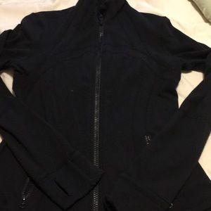 Lululemon black define jacket, size 8